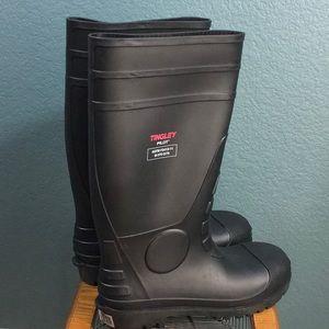 "Tingley General Purpose 15"" PVC Steel Toe Boots"